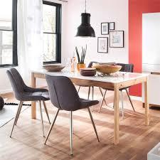Modernes Polsterstuhl 2er Set In Grau Mit Edelstahlfarbenem 4 Fuß Metallgestell