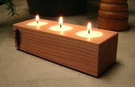 tea light candle holder wood candle holder tea light candle holder home decor cottage style tea light candle holder