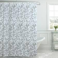 <b>Штора</b> для ванной Studiotex White <b>Flower</b> 180х180 см ПЭВА серая