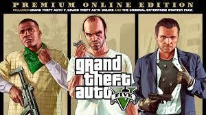 Grand Theft Auto V: Premium Online Edition - Rockstar Games