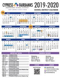 Cypress Fairbanks Independent School District 2020