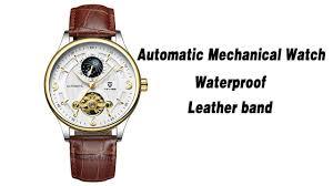 <b>TEVISE Automatic</b> Men <b>Mechanical Watch</b> Luminous Waterproof ...
