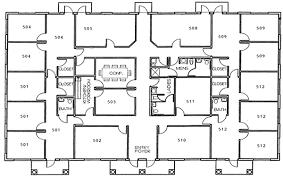 Suite 5AB U003d 3124 Square Feet  Office Spaces Raduca Sharene Floor Plan Office
