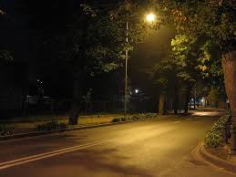 Image result for quiet street at night