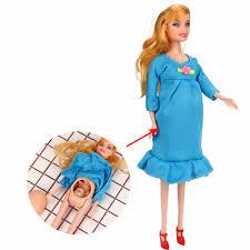 Đồ Chơi Giáo Dục Cho Bé Thật Mang Thai Búp Bê Phù Hợp Với Búp Bê Có Em Bé  Trong Bụng Cho Búp Bê Barbie Trẻ Em Đồ Chơi|