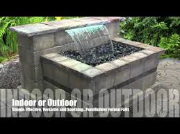 Small Picture Retaining Wall Waterfall Examples YouTube Patio Project