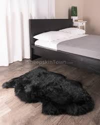 black sheepskin rug. Black Sheepskin Rug L45 About Remodel Stunning Furniture Home Design Ideas With R