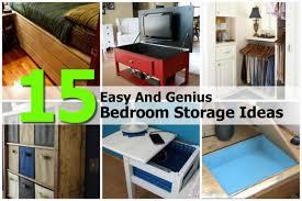 Charming Bedroom Storage Ideas Diy Photo   1