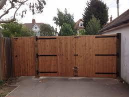 wood fence double gate. Bi Folding Double Gates 1 Wood Fence Gate