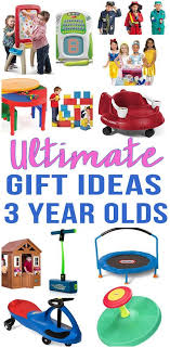 BEST Gifts For 3 Year Olds! Top gift ideas that boys and girls will love! Find presents kids want - from educational toys to award winning Best Old | Christmas Christmas, Gifts,