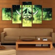 large framed canberra raider rugby painting printed canvas poster home decor on canberra raiders wall art with frame 3 panel native american indian girl feathered canvas painting