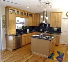 pendant bar lighting. Small L Shaped Kitchen Designs With Island Orange Pendant Bar Lighting Sea Green Standing Pebble Tile Grey Metal Cabinet Range Hood White Leather Stools G