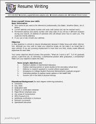 Sample Resume High School Student Summer Job Lovely High School