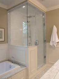 43 amazing bathrooms with half walls remodel project pertaining to wall shower glass creative 1