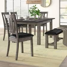 Mistana Katarina 6 Piece Extendable Solid Wood Dining Set Reviews