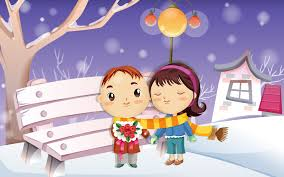 1920x1200 cute valentine love couple cartoon images of love desktop wallpapers