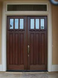 Delighful Craftsman Double Front Door Style Exterior French Doors Entry With Perfect Design