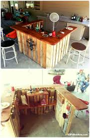 best loved pallet bar ideas projects