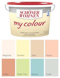 Alpina Sanfte Farben 5 L. Creme matt, fertig abgetönte Wandfarbe ...