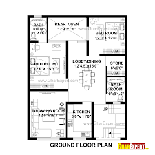 150 Square Feet Room House Plan For 33 Feet By 41 Feet Plot Plot Size 150 Square Yards
