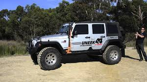 off road unlimited roof racks uneek 4x4 jk wrangler roof rack youtube