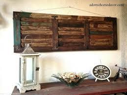 barn wood wall decor rustic wooden wall decor reclaimed barn wood art metal and panel rustic