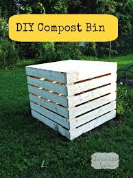 home depot diy compost bin