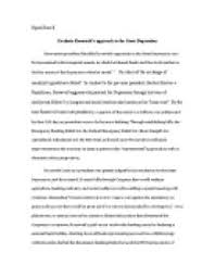 great depression research essay a four paragraph essay example on the great depression