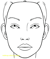 coloring pages makeup coloring pages with barbie