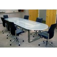 round glass conference room table
