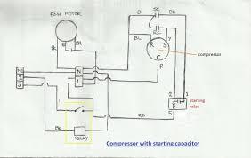 refrigerator compressor wiring diagram Capacitor Circuit Diagram wiring diagrams for refrigerator diy single phase refrigeration compressor wiring diagram refrigerator