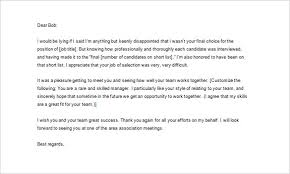Thank You Letter After Job Interview Sample Free