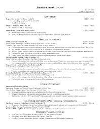 Resume Social Work Resume Examples