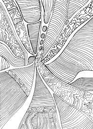 Kleurplaat Pagina Abstracte Patroon Doolhof Van Ornamenten