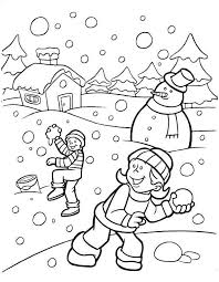 January coloring pages are a great way to explore the season with your kids. Free January Coloring Pages Printable