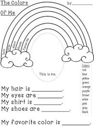 colors of the rainbow worksheet. all about me rainbows {freebie} whimsy workshop teaching colors of the rainbow worksheet y