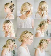 classic twisted wedding updo tutorial for thin hair