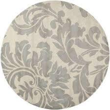 bellaire dark gray 8 ft x 8 ft round indoor area rug bellaire dark