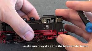 marklin 72270 smoke installation in marklin 39640 locomotive