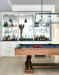 mirror with glass shelves for bar pool table with wet bar mirror glass shelves bar