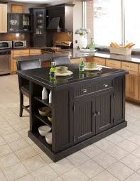 ... Portable Small Kitchen Island Idea With Window Treatment