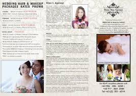 makeup artist s for weddings hair packages rates
