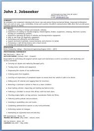 Auto Mechanic Resume Sample Pleasing Auto Mechanic Resume Sample