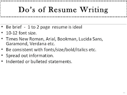 Right Font Size For Resume Best Solutions Of Right Font Size For