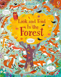 """<b>Look and find</b> in the forest"" at Usborne Children's Books"