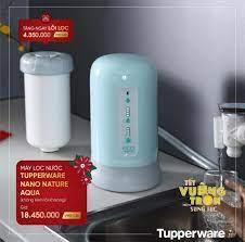 Máy lọc nước Tupperware Nano Nature Aqua