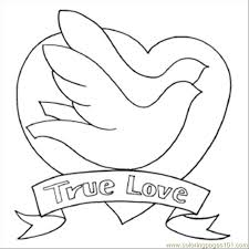 Small Picture bird to color free printable coloring page 68 True Love Birds