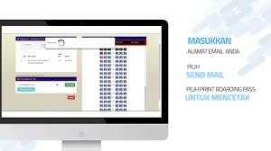 Tutorial Check In Online Sriwijaya Air - YouTube