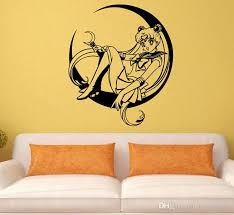 Small Picture Decal Removable Home Decor Vinyl Decal Cartoon Sailor Moon Sitting