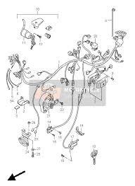suzuki vs1400 intruder 1996 spare parts msp wiring harness